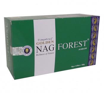 GOLDEN NAG FOREST - Incenso Indiano massala
