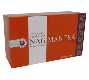 GOLDEN NAG MANTRA - Incenso Indiano massala