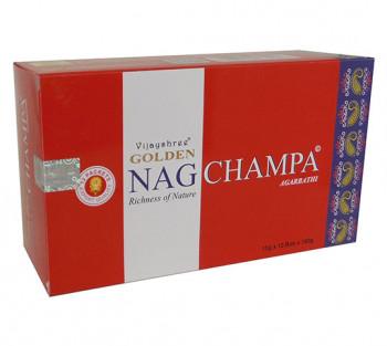 GOLDEN NAG CHAMPA - Incenso Indiano massala