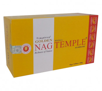 GOLDEN NAG TEMPLE - Incenso Indiano massala