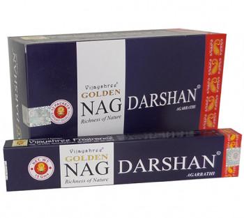 GOLDEN NAG DARSHAN - Incenso Indiano massala (valor unitário)