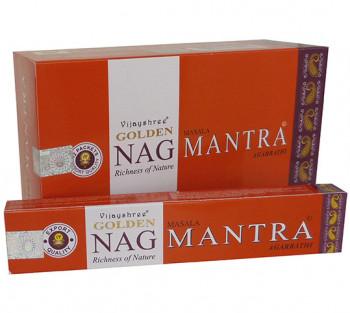 GOLDEN NAG MANTRA - Incenso Indiano massala (valor unitário)