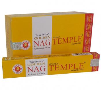 GOLDEN NAG TEMPLE - Incenso Indiano massala (valor unitário)