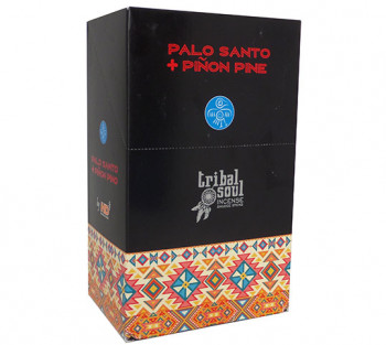 Tribal Palo Santo + Pinho - Incenso Indiano de Massala