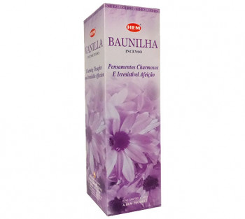 BAUNILHA - Incenso Indiano Hem