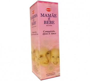 MAMÃE e BEBÊ - Incenso Indiano Hem