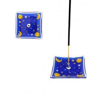 Incensário de Vidro - Celestial 7cm