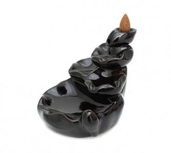 Incensário Cerâmica Cascata Lotus - 10cm