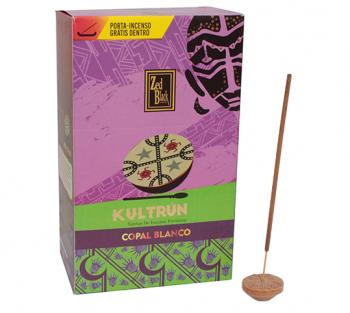 Kultrún Copal Branco - Incenso Indiano Premium