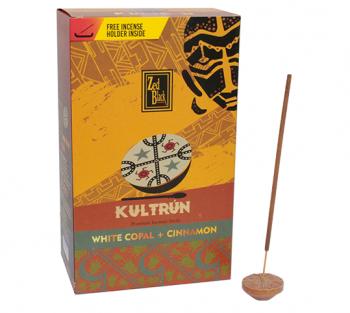 Kultrún Copal + Canela - Incenso Indiano Premium