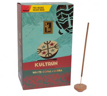 Kultrún Copal + Mirra - Incenso Indiano Premium