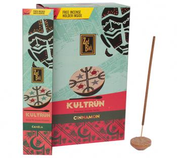 Kultrún Canela - Incenso Indiano Premium (unitário)