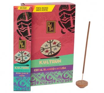 Kultrún Copal + Melissa - Incenso Indiano Premium (unitário)