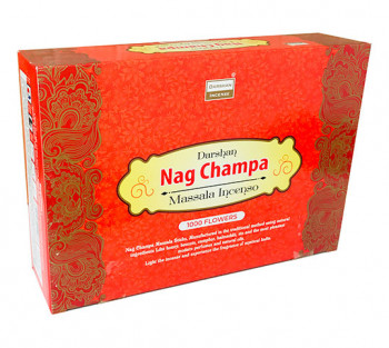 "NAG CHAMPA ""Flowers"" - Incenso Indiano Darshan"