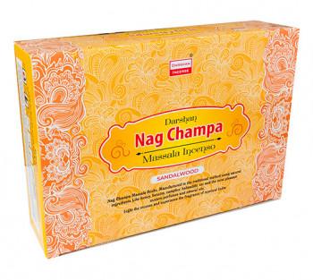"""NAG CHAMPA """"Sandalwood"""" - Incenso Indiano Darshan"""