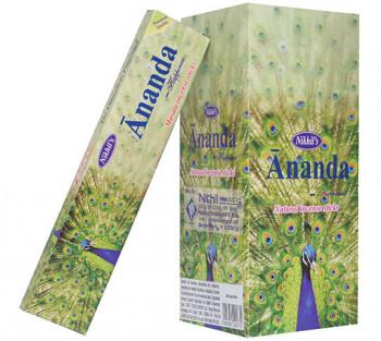 ANANDA - Incenso Indiano de massala (VALOR UNITÁRIO)