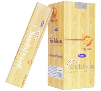 SANDALWOOD - Incenso Indiano de Massala (VALOR UNITÁRIO)
