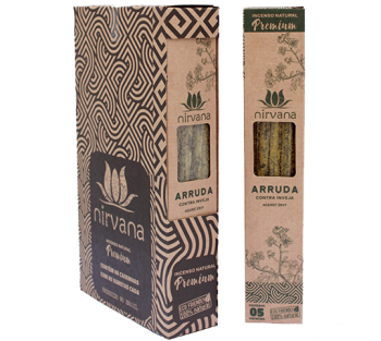 Nirvana Incenso Natural Premium - Arruda