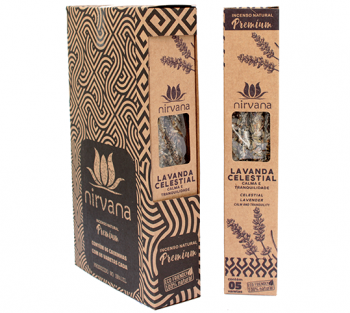 Nirvana Incenso Natural Premium - Lavanda