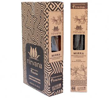 Nirvana Incenso Natural Premium - Mirra