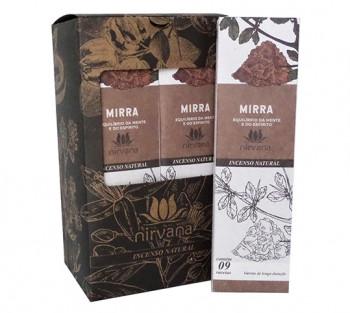 Nirvana Incenso Natural - Mirra