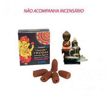 GANESHA Cone Cascata -  Incenso Indiano (valor unitário)