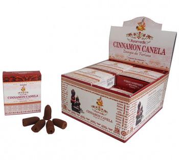 CANELA Cone Cascata -  Incenso Indiano