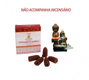 CANELA Cone Cascata -  Incenso Indiano (valor unitário)