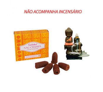 NAG CHAMPA Cone Cascata -  Incenso Indiano (valor unitário)