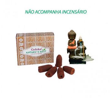 NATURE'S NEST Cone Cascata -  Incenso Indiano (valor unitário)