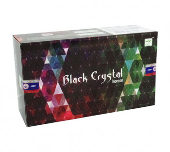 SATYA BLACK CRYSTAL - Incenso Indiano de Massala