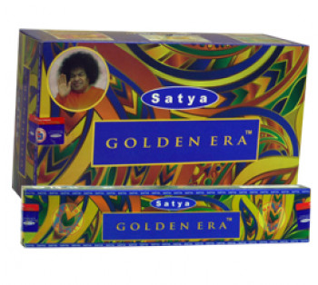 SATYA GOLDEN ERA - Incenso Indiano de Massala (VALOR UNITÁRIO)