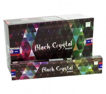 SATYA BLACK CRYSTAL - Incenso Indiano de Massala (valor unitário)