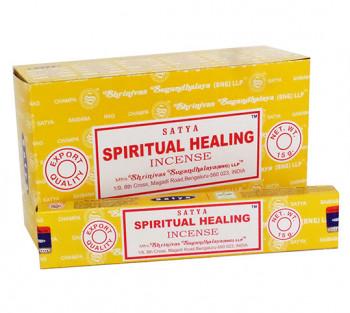 SATYA SPIRITUAL HEALING - Incenso Indiano de Massala (VALOR UNITÁRIO)