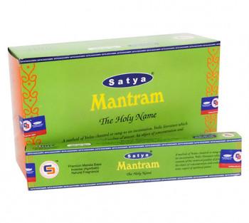 SATYA MANTRAM - Incenso Indiano de Massala (valor unitário)