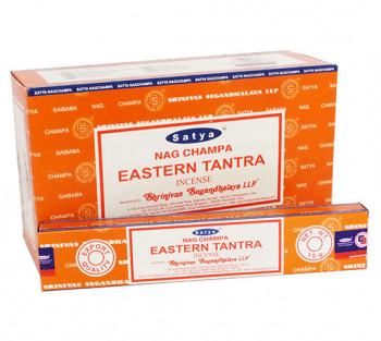 SATYA EASTERN TANTRA - Incenso Indiano de Massala (valor unitário)