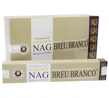 GOLDEN NAG BREU BRANCO - Incenso Indiano massala (valor unitário)