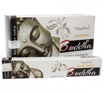 GOLDEN BUDHA - Incenso Indiano massala (valor unitário)