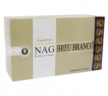 GOLDEN NAG BREU BRANCO - Incenso Indiano massala