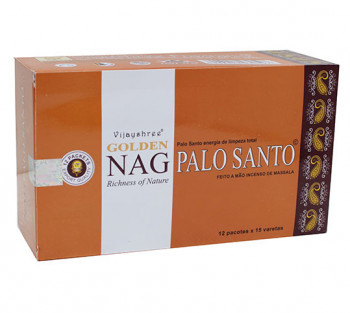 GOLDEN NAG PALO SANTO - Incenso Indiano massala