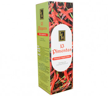 13 PIMENTAS - Incenso Indiano Zed