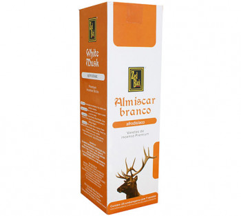 ALMISCAR BRANCO - Incenso Indiano Zed