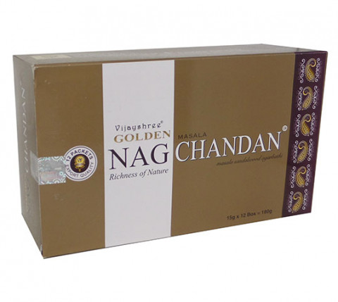 GOLDEN NAG CHANDAN - Incenso Indiano massala
