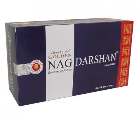 GOLDEN NAG DARSHAN - Incenso Indiano massala