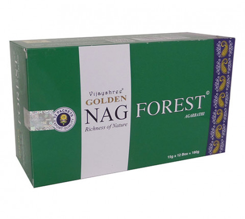GOLDEN NAG FOREST - Incenso Indiano massala
