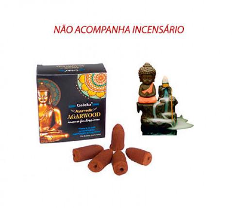 BUDHA Cone Cascata -  Incenso Indiano (valor unitário)